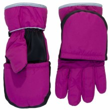 Calikids 2-in-1 Waterproof Glove/Mitten Fuchsia