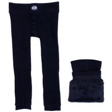 Calikids Cozy Pants Black