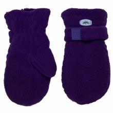 Calikids Fleece Mittens Imperial Purple 3-5Y