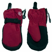 Calikids Mittens with Clips Scooter Red 12-24M