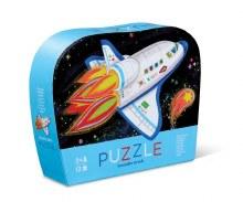 12 Piece Mini Puzzle Blast Off