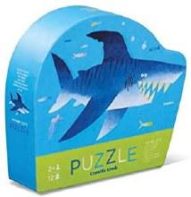 Crocodile Creek 12pc Mini Puzzle Shark