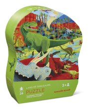 Crocodile Creek 24 Puzzle Dinosaurs