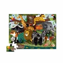36 Piece Floor Puzzle Jungle Friends