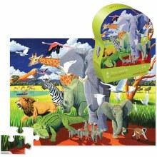36 Piece Floor Wild Safari
