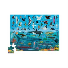 48 Piece Puzzle Above and Below Backyard Discovery