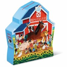 100 Piece Puzzle Day at the Farm