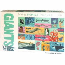 500 Piece Family Puzzle Giants of the Sea