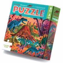 60 Piece Puzzle Foil Dinosaurs