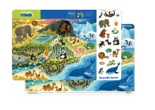 Crocodile Creek Placemat Where Animals Live