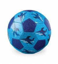 Crocodile Creek Size 3 Glitter Soccer Ball- Sharks