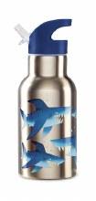 Crocodile Creek Stainless Steel Bottle Shark City