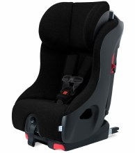 Clek Foonf 2020 Convertible Car Seat- Pitch Black with C-Zero Premium Fabric