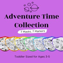 Crafty Mask Adventure Time 3-5 years