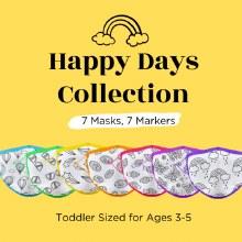 Crafty Mask Happy Days 3-5 years