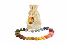Crayon Rocks Muslin Bag of 32 Colors