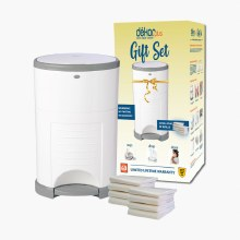 Dekor Plus White Gift Set with 8 additional refills