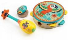Djeco Animambo 3-Piece Music Set