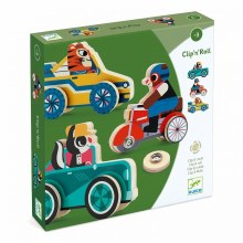 Clip'n'Roll Wooden Cars
