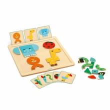 Djeco Geo Basic Magnetic Game