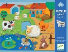 Djeco Giant Tactile Puzzle Farm Animals