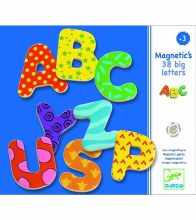 38 Magnetic Big Letters