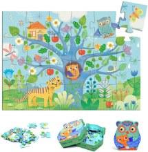 Djeco 24-Piece Puzzle Hello Owl