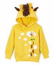 Doodle Pants 3D Giraffe Hoodie