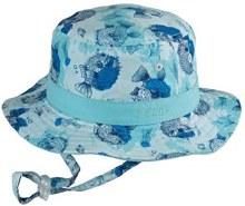 Baby Bucket Hat- Bubble Blue 12-124mths