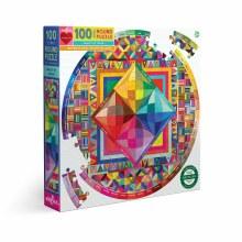 100 Piece Puzzle Beauty of Color