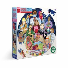 100 Piece Puzzle International Women's Day
