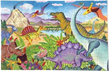 Age of Dinosaurs 100 Piece Puzzle