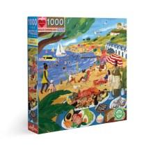 Beach Umbrellas 1000 pc Puzzle