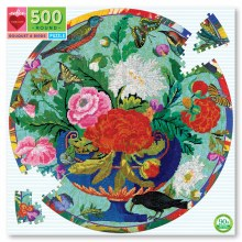 Bouquet and Birds 500 Piece Puzzle