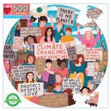 Climate Action 500 pc Round Puzzle