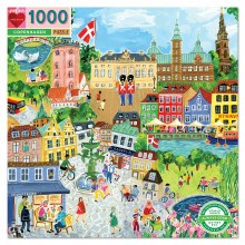 eeBoo Copenhagen 1000 Piece Puzzle