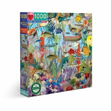 1000 Piece Puzzles Gems and Fish