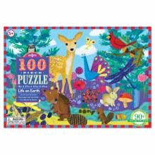 eeBoo 100 Piece Puzzle Life on Earth