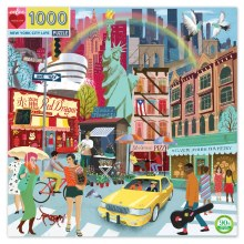 New York City Life Puzzle 1000 pieces