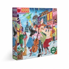1000 Piece Puzzle Music Montreal