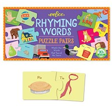 EB Rhyming Words Puzzle Pairs