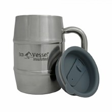 Eco Vessel Stainless Steel Double Barrel Insulated Mug 500 ml