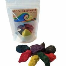 eco-crayons sea rocks