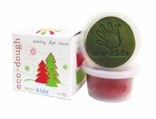 eco-kids eco-dough Christmas 2-pack