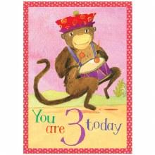 eeBoo Card 3rd Birthday