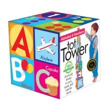 eeBoo Tot Tower Alphabet
