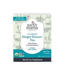 Earth Mama Organic Ginger Nausea Tea
