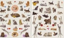 Eyelike Stickers Kittens