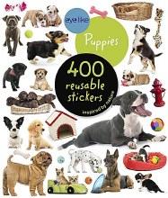 Eye Like Reusable Sticker Book Puppies