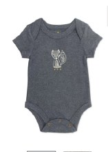 F+E Bodysuit Beluga Heather 3-